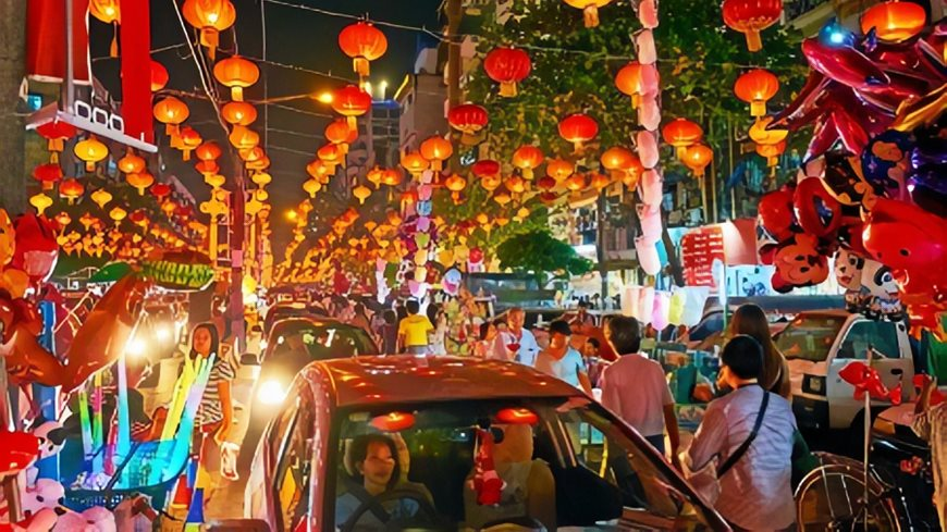 China Town en Yangon